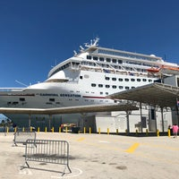 Photo taken at Port Of Miami - Carnival Cruise by Rick C. on 9/15/2018