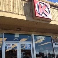 Photo taken at CircleK by Veronica B. on 11/16/2012