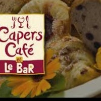 Photo taken at Caper's Café by Sategna N. on 11/5/2012