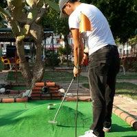 Photo taken at Alanya mini golf park by 👉Yunus Yararli . on 8/10/2015