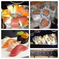 Photo taken at Coast Sushi Bar by WETSU76 J. on 4/13/2013