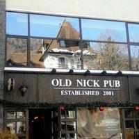 Photo taken at Old Nick Pub by Marija Č. on 1/2/2013