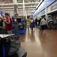 Photo taken at Walmart Supercenter by Peter B. on 1/13/2013