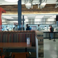 Photo taken at Googleplex - Masa Cafe by Burke S. on 9/28/2012