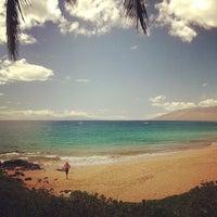Photo taken at Kamaole Beach Park I by Chris N. on 9/10/2013