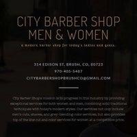 Photo taken at City Barber Shop   Men & Women by City Barber Shop   Men & Women on 4/24/2015