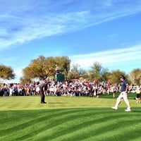 Photo taken at TPC Scottsdale by Chad C. on 1/31/2013