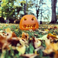 Photo taken at Old Main lawn by Western Washington University M. on 10/28/2013