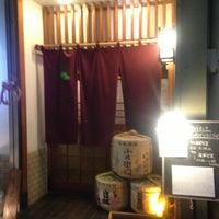 Photo taken at 日本酒 はなおか by Natsuko Y. on 1/5/2013