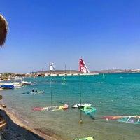 Photo taken at Alaçatı Surf Paradise Club by Gokhan A. on 9/2/2018