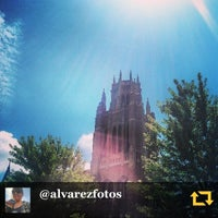 Photo taken at Marquette Hall by Father M. on 8/6/2013
