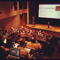 Photo taken at Weasler Auditorium by Father M. on 10/10/2012