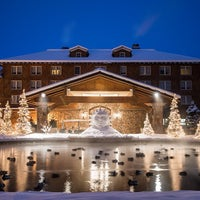 Photo taken at Sun Valley Lodge by Sun Valley Resort M. on 1/15/2013