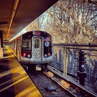 Photo taken at MTA Subway - Middle Village/Metropolitan Ave (M) by transiTALK Transportation Media Group on 2/15/2016
