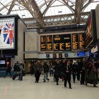 Photo taken at Charing Cross Railway Station (CHX) by Rhammel A. on 2/4/2013