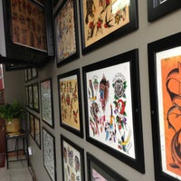 Photo taken at Taylor Street Tattoo by Jamie S. on 4/27/2013