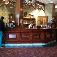 Photo taken at Strater Hotel by Mayor H. on 4/25/2013