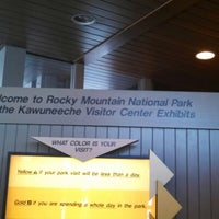 Photo taken at Kawuneechee Visitors Center by Mayor H. on 2/2/2013