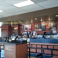 Photo taken at Bruegger's Bagels by Toby L. on 1/4/2013