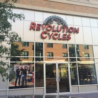 Photo taken at Revolution Cycles by René R. on 10/16/2015