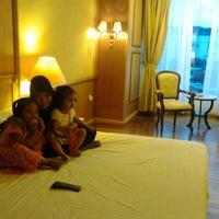Photo taken at Gran Senyiur Hotel by Mia P. on 5/10/2013