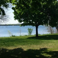 Photo taken at Kempenfelt Park by Hayley C. on 5/30/2014