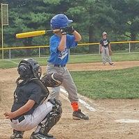 Photo taken at South Lexington Youth Baseball by Tim H. on 9/9/2014