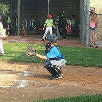 Photo taken at South Lexington Youth Baseball by Tim H. on 9/3/2014
