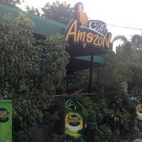 Photo taken at Café Amazon by Thananrath S. on 3/29/2013