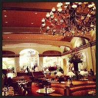 Photo taken at Omni Shoreham Hotel by Tim W. on 4/26/2013