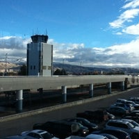 Photo taken at Boise Airport (BOI) by Fer A. on 12/17/2012