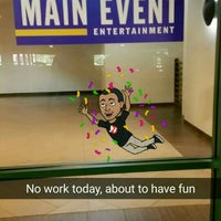 Photo taken at Main Event Entertainment by Andrè P. on 7/21/2016