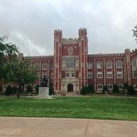 Photo taken at University of Oklahoma by Jake B. on 5/26/2013