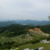 Photo taken at 무궁화공원묘지 by Kwangsoo B. on 8/31/2014