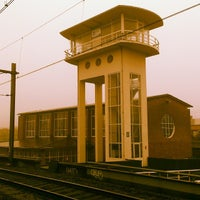 Photo taken at Station Amsterdam Muiderpoort by Richard S. on 1/23/2014