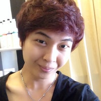 Photo taken at Scissor Park Hair Studio by Park P. on 9/26/2014