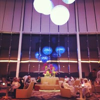 Photo taken at Jumeirah at Etihad Towers by purplepassport on 1/25/2013
