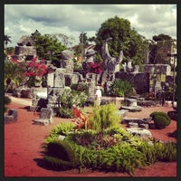 Photo taken at Coral Castle by purplepassport on 11/21/2013