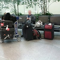 Photo taken at United International Check In by Shelley Winegarner on 11/15/2012