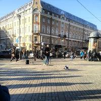 Photo taken at Sennaya Square by Анна on 4/9/2013