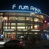 Photo taken at Forum Ankara Outlet by Erhan Ç. on 11/21/2012