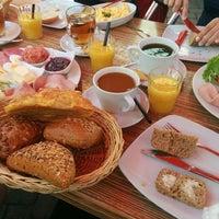Photo taken at Bäckerei Geiping by Arne N. on 6/7/2015