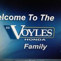 Photo taken at Ed Voyles Honda by Richard W. on 4/9/2013