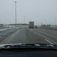 Photo taken at Autoroute 440 Est by M B. on 2/15/2014