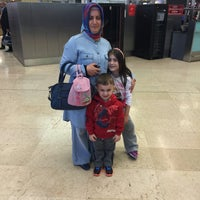 Photo taken at Domestic Terminal Departure by İsmail Y. on 5/1/2015