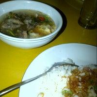 """Photo taken at Soto Betawi """"Bang Udin"""" by Sofyan A. on 12/15/2012"""