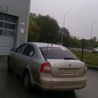 Photo taken at Альт-парк, Дилер Skoda by Андрей А. on 9/21/2012