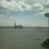 Photo taken at Dunhuang airport (DNH) by Tetsuo S. on 8/7/2013
