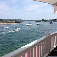 Photo taken at Gosman's Topside Bar by Ross M. on 8/10/2014