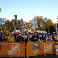 Photo taken at ESPN College GameDay by ESPN on 11/3/2012